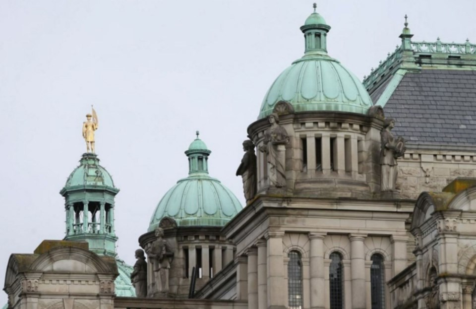 Victoria legislature BC government