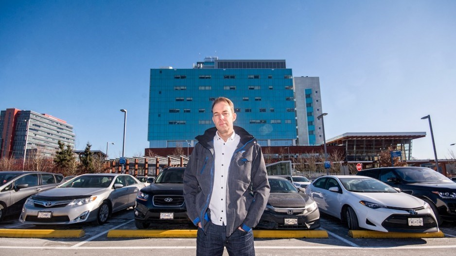 HospitalPayParking.ca founder Jon Buss believes it is immoral to charge for parking near hospitals b