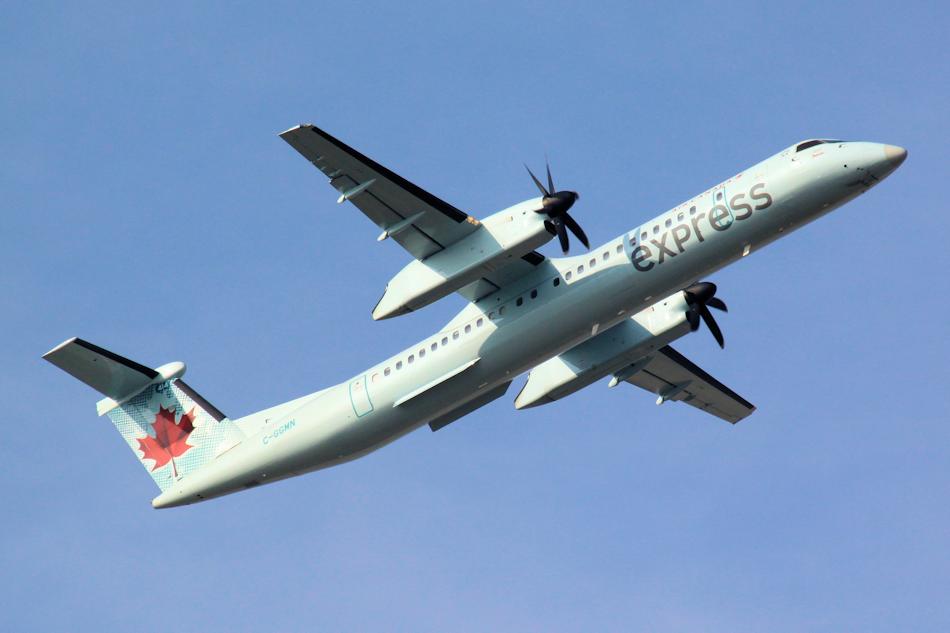 Air Canada Express Bombardier Q-400 aircraft
