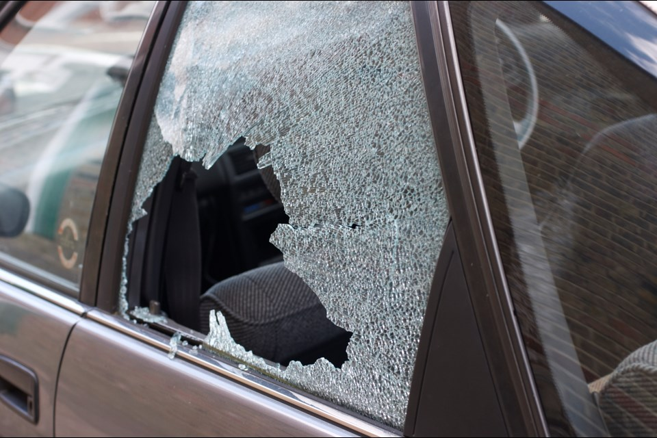 The number of break-ins to vehicles in Vancouver almost doubled in the last eight years, jumping from 7,266 in 2011 to 14,598 in 2018. Photo iStock