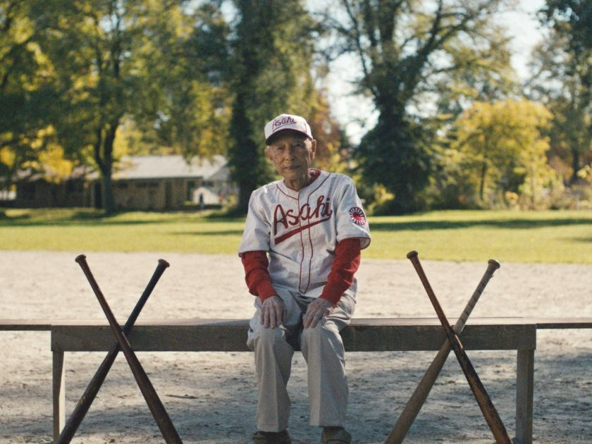 Ninety-seven-year-old Kaye Kaminishi is the last member of the famed Japanese-Canadian baseball team the Asahi who is still alive. The team is featured in an upcoming Heritage Minute commercial, and Kaminishi returned to his former ballpark for the film shoot. In his day it was called the Powell Street Grounds. Today, it is Oppenheimer Park.