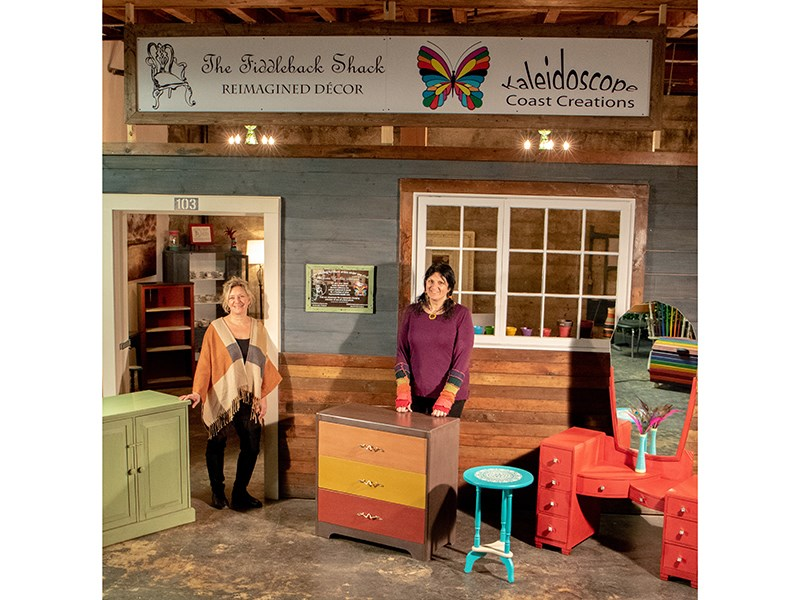 Powell River Duo Reimagines Wood Furniture And Kitchen Cabinets Powell River Peak
