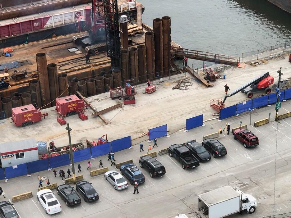 bosa construction site pier west
