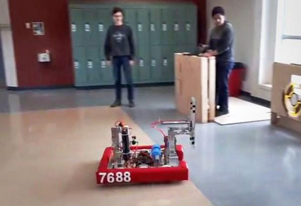 Byrne Creek robots