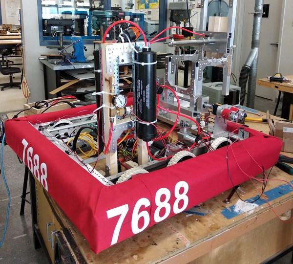 Byrne Creek robot