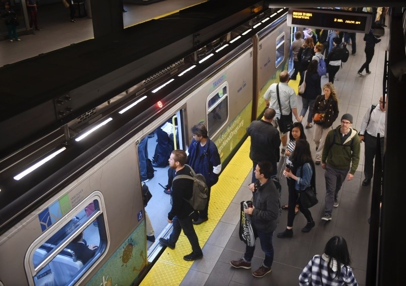Vancouver's public transit system is one of the better ones in North America according to a recent s