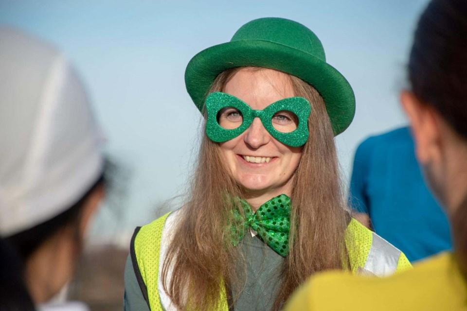 Photo: St. Patrick's Day fun at Richmond Olympic Parkrun_13