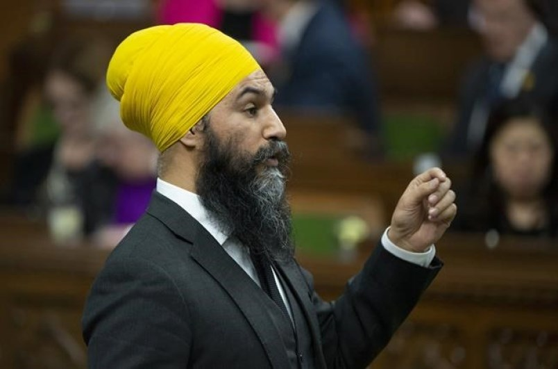 jagmeet singh in house of commons