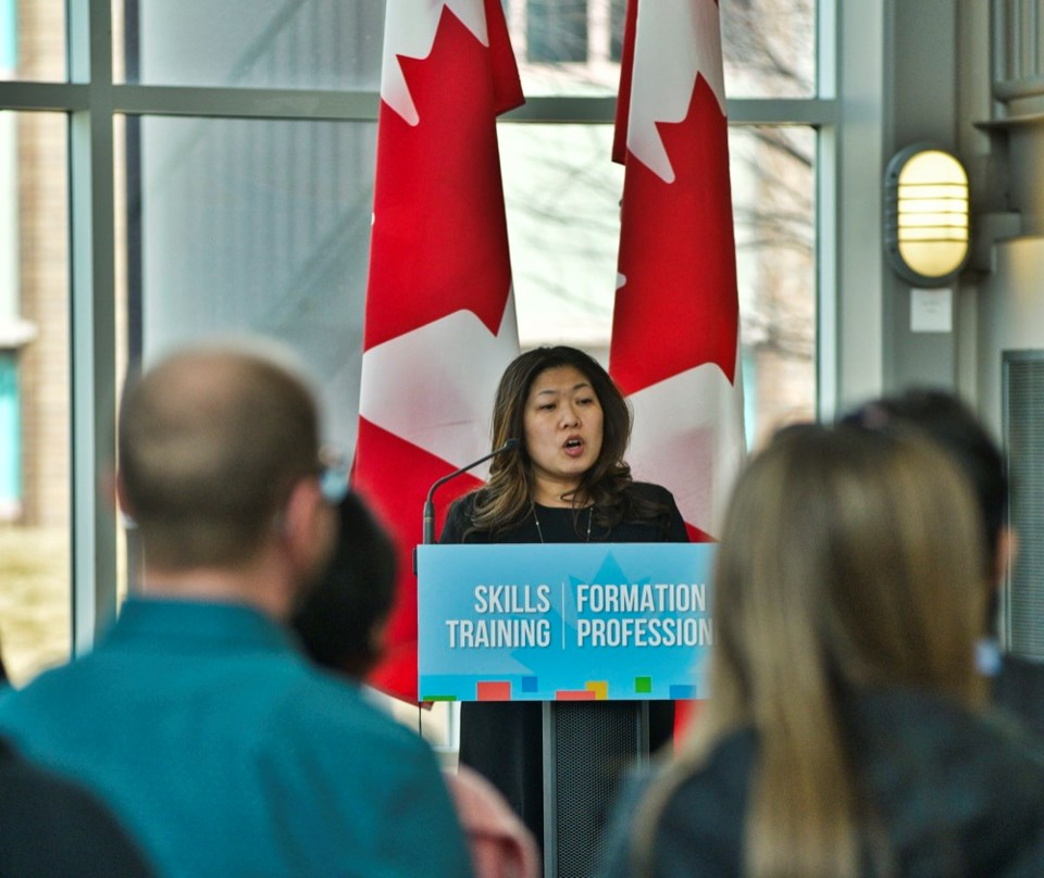 Federal Minister of Small Business and Export Promotion Mary Ng