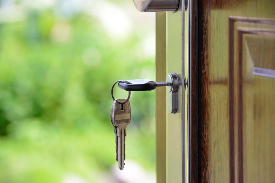 door key home buying real estate