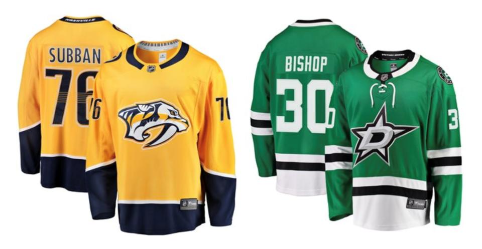 Predators Stars jerseys