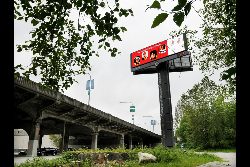 Squamish Nation owns a site at the south end of the Burrard Bridge. A development on the property may include 3,000 units. Photo Dan Toulgoet