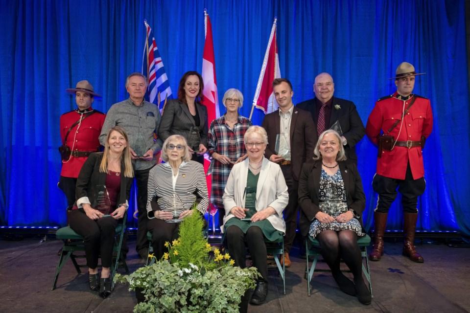 Freedom of City Exemplary Service awards