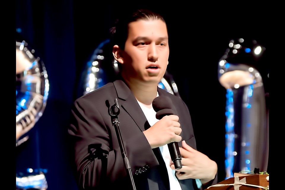 """Khelsilem, a Squamish Nation councillor, on plans to develop Squamish land at the foot of Burrard Bridge: """"For our people, this is overdue in some ways. They're wanting us to move forward and take advantage of these opportunities so that we can create that wealth and return it to our community."""" File photo Chung Chow"""