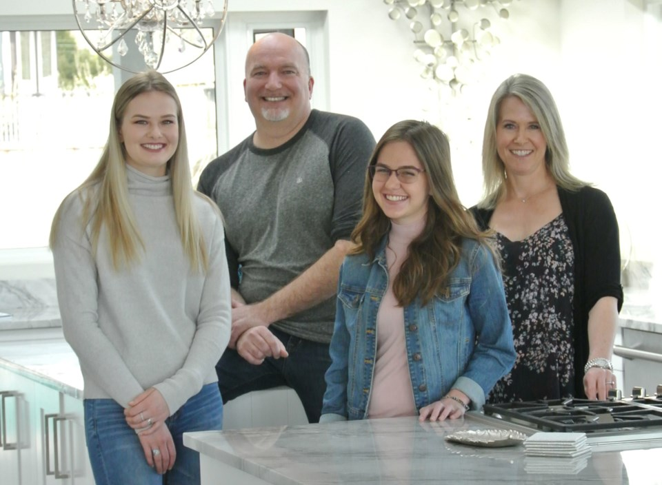 Together the McGills — Kheya, Sean, Taylin and Erin — have found the strength to overcome the challe