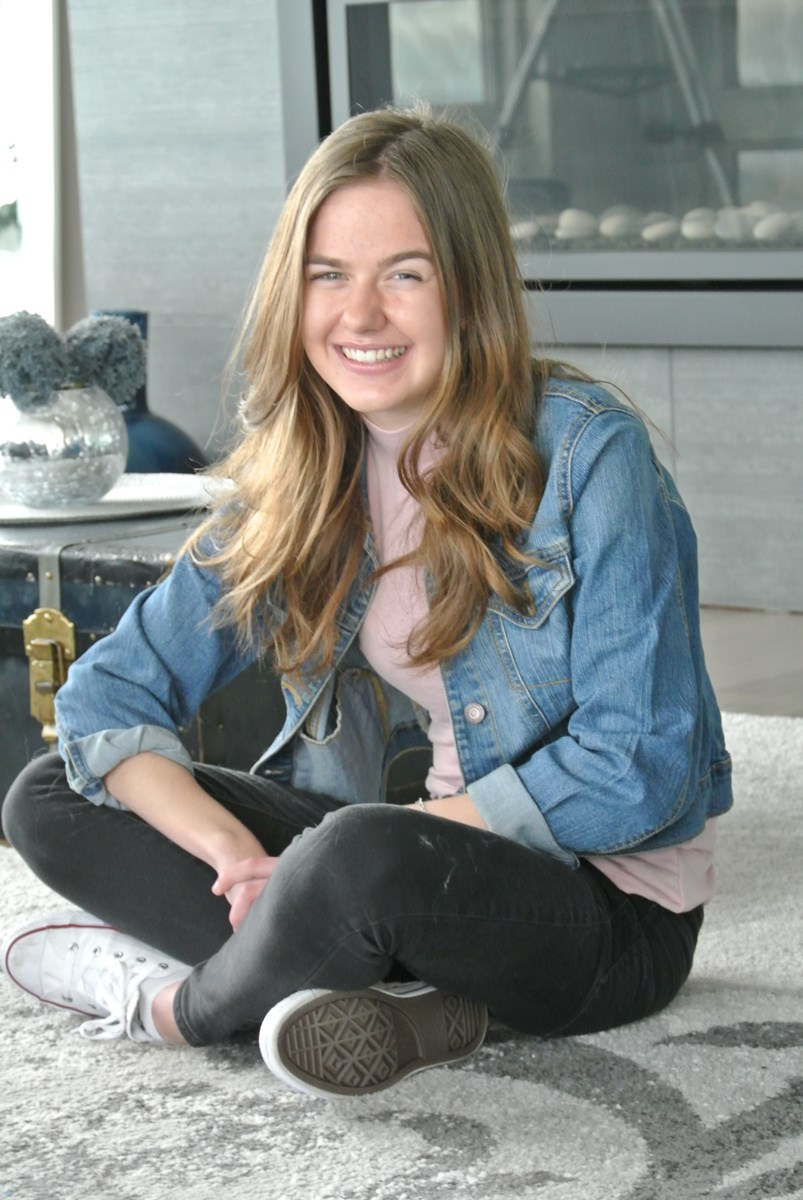 Taylin McGill, the 2019 youth recipient of the Courage to Come Back award, has been in and out of ho