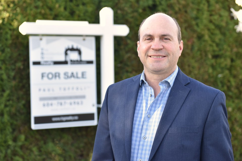 Paul Toffoli, TRG – The Residential Group Realty, first place realtor. Photo Dan Toulgoet