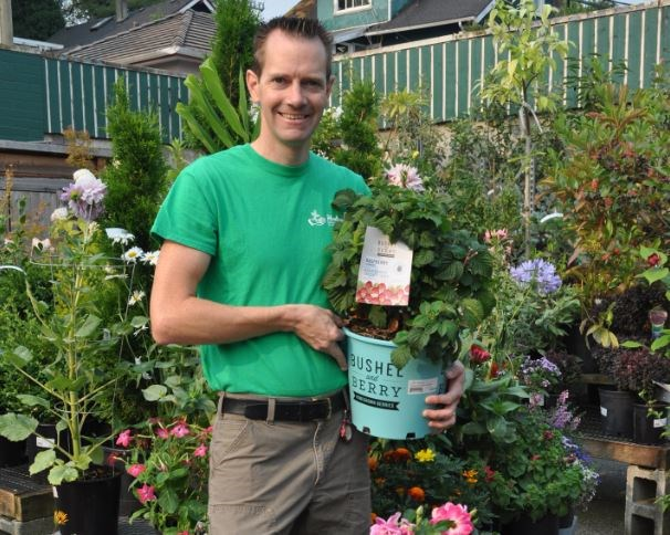 Miles Hunter, Hunters Garden Centre, second place for garden store. Photo supplied