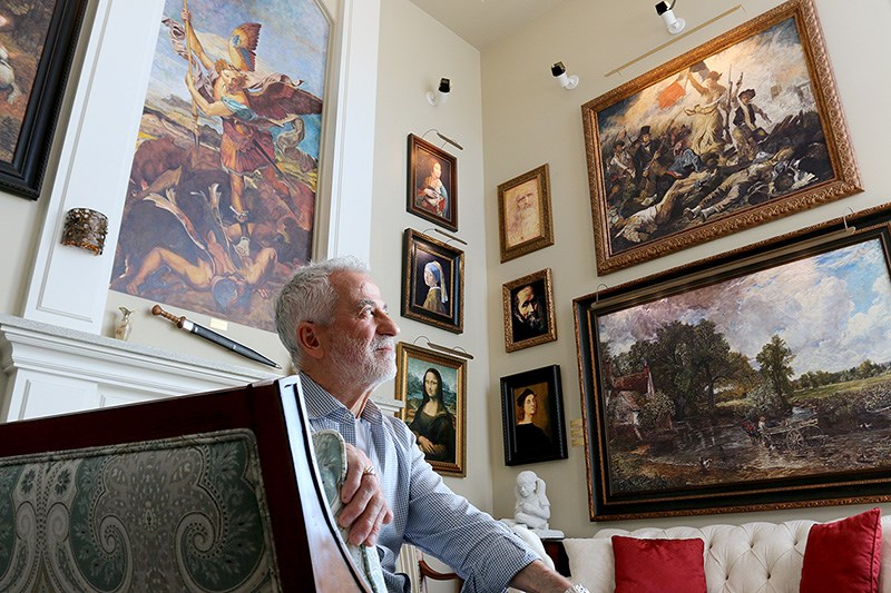 Cosimo Geracitano has turned his house into a personal museum.
