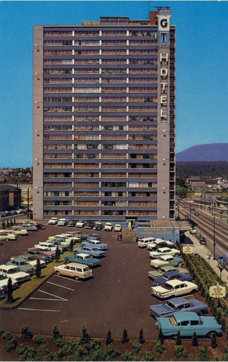 A vintage 1960s-era postcard posted on Flickr reveals what it looked like in early days before devel