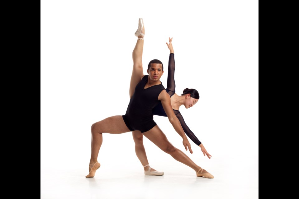 Hinano Furukawa and Igor Gomes are two of the Burnaby dancers in Coastal City Ballet's Swan Lake.