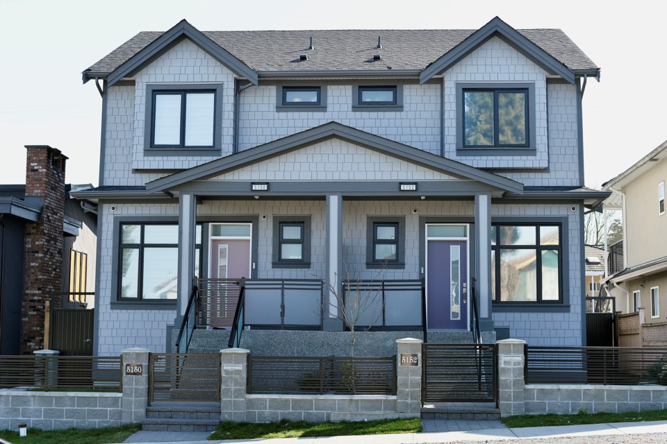 Duplexes can be in a range of styles — front/back, side-by-side or up-down unit configurations. Photo Jennifer Gauthier
