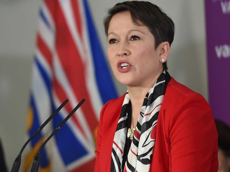 "Advanced Education Minister Melanie Mark: ""I feel like we're just planting seeds and really trying t"