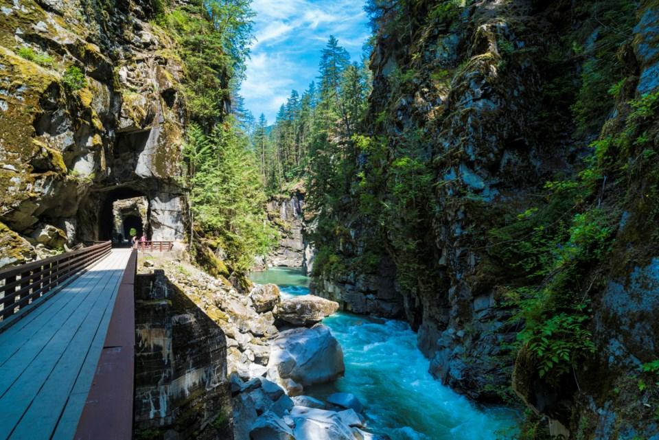Othello Tunnels at Coquihalla Canyon Provincial Park