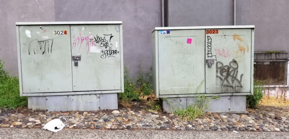 Graffiti, garbage and the state of several city-owned parkades has rankled columnist Michael Geller.