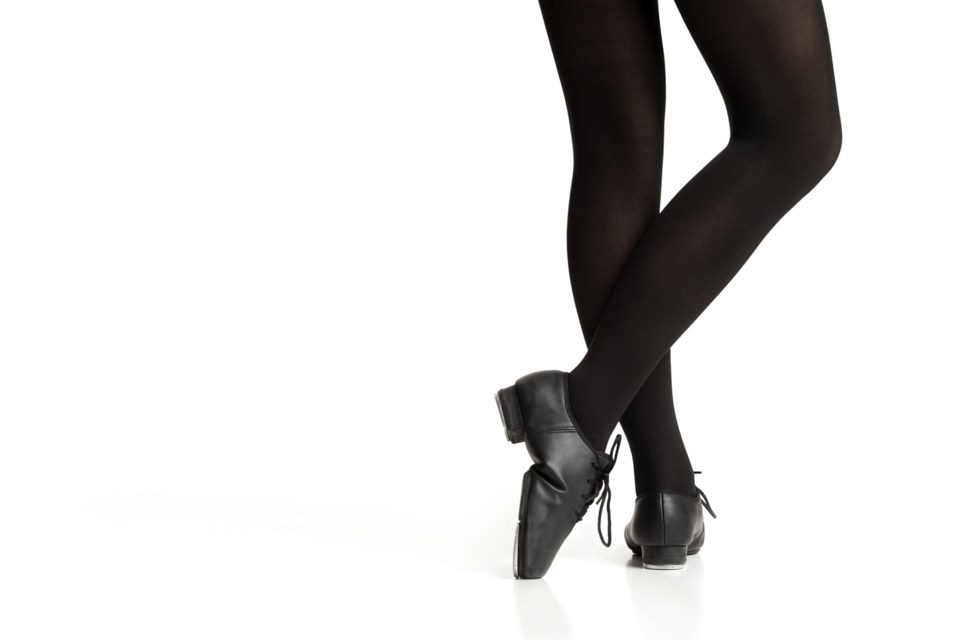 dancer legs, stock photo