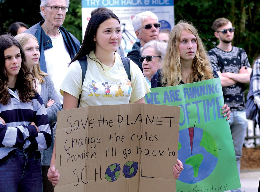 Youth Climate Rally web