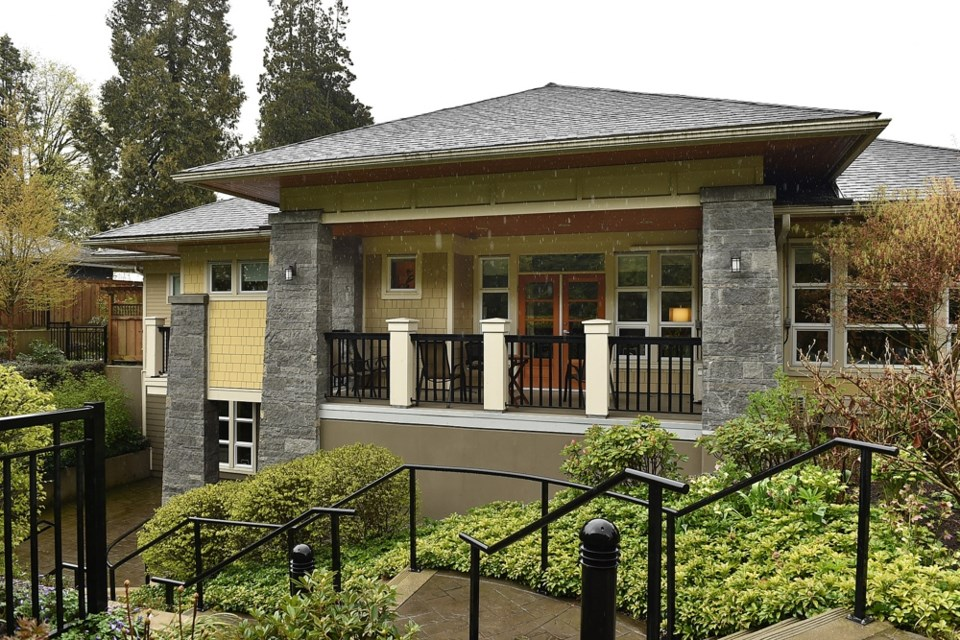 The hospice, at 4615 Granville St., is on the lot next to the proposed development. Photo Dan Toulgoet