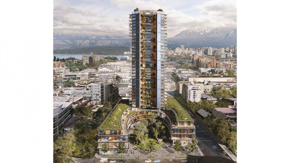 Canada Earth Tower: world's tallest wood tower planned for Vancouver would also include rigorous gre