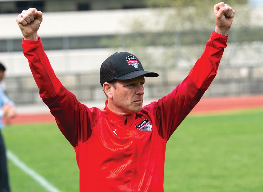 North Vancouver's Will Cromack is one of the driving forces behind the Vancouver TSS Rovers, an elite soccer club with men's and women's teams that play home games at Swangard Stadium. photo supplied TSS Rovers/AFTN Canada
