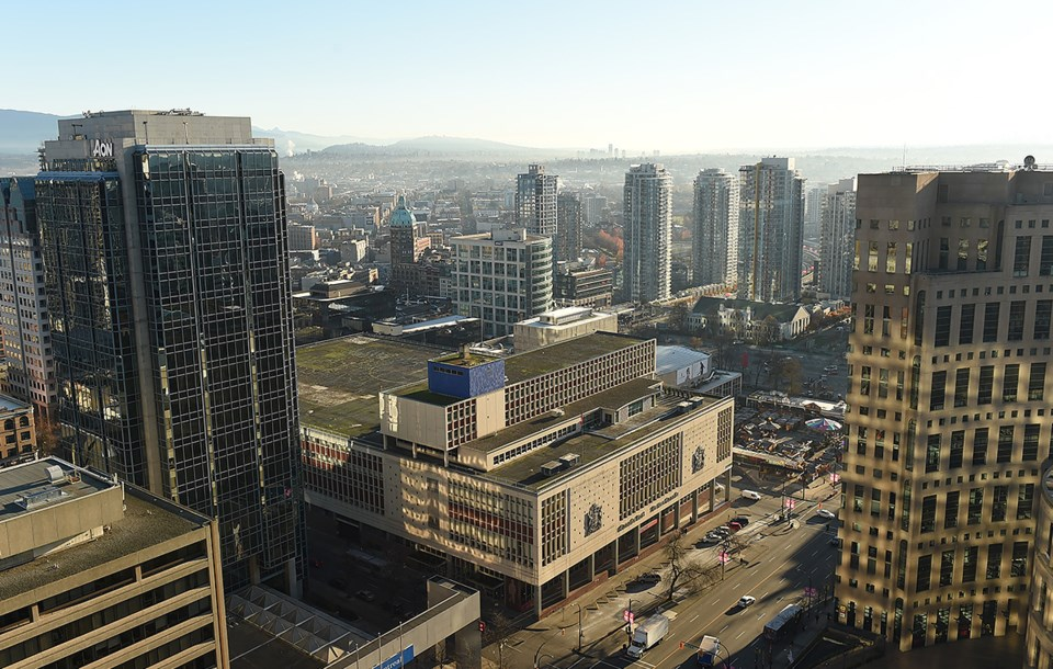 Morning light on the old Canada Post building downtown. Photo Dan Toulgoet
