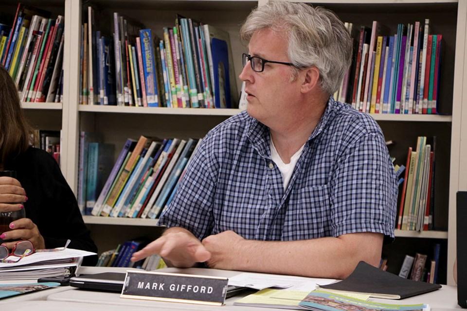 Mark Gifford, school board trustee