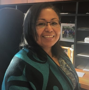Cheryl Casimer, who sits on the First Nations Summit Task Group in B.C., questions the government's