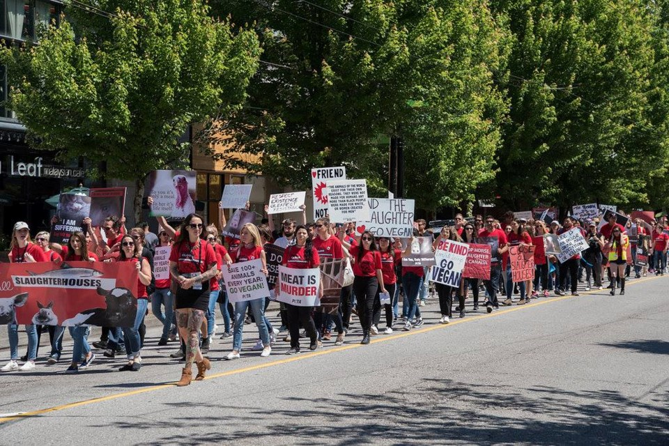 Vancouver March To Close All Slaughterhouses