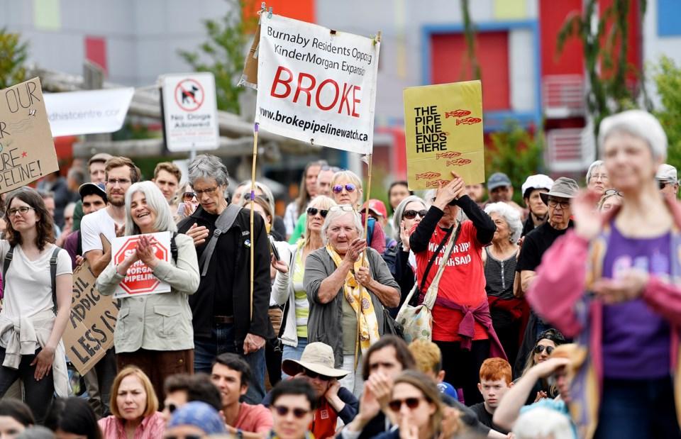 Pipeline BROKE signs
