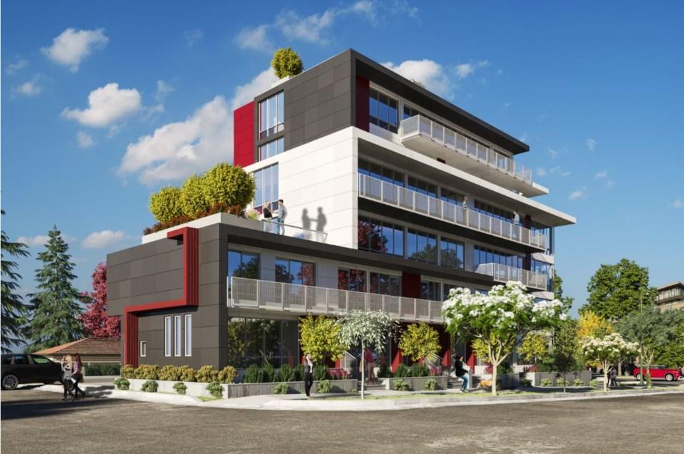 Rendering of 5110 Cambie Street courtesy of Billard Architecture