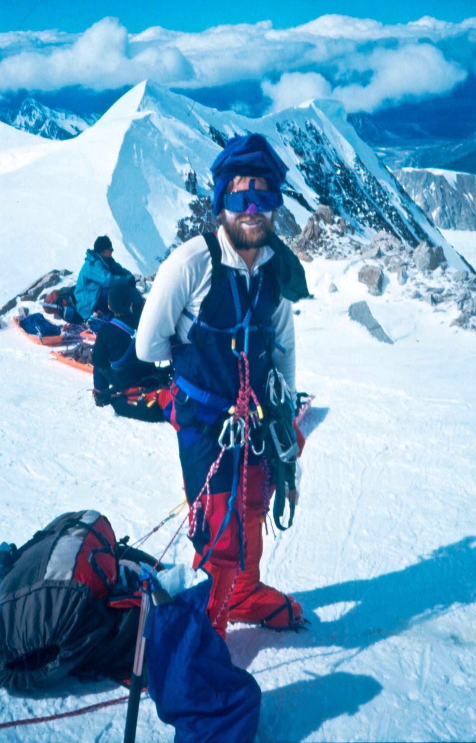 Chapman, 29, climbing Denali in Alaska