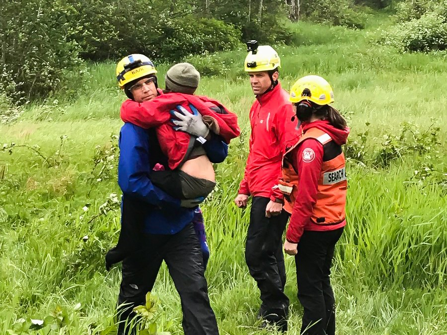 Last month, Coquitlam SAR rescued two children off Burke Mountain after their father left them in a