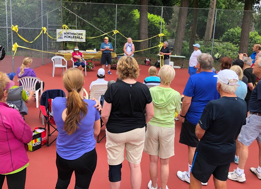 North Shore Pickleball celebrates opening of new courts_3