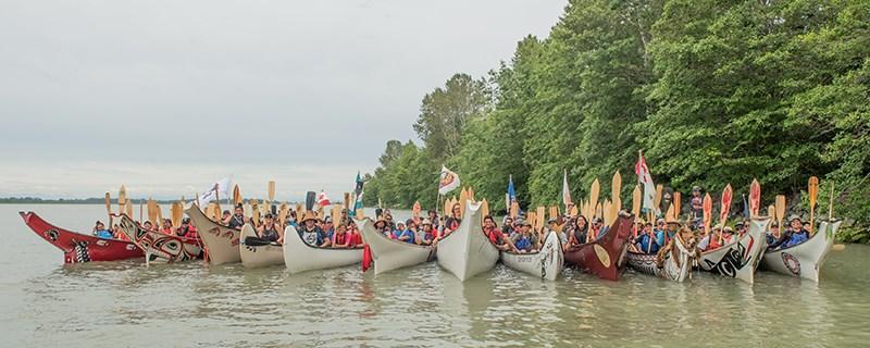 Pulling Together Canoe Journey