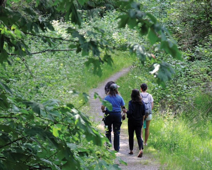 New 1.6-km trail highlights nature surrounding Capilano University_7