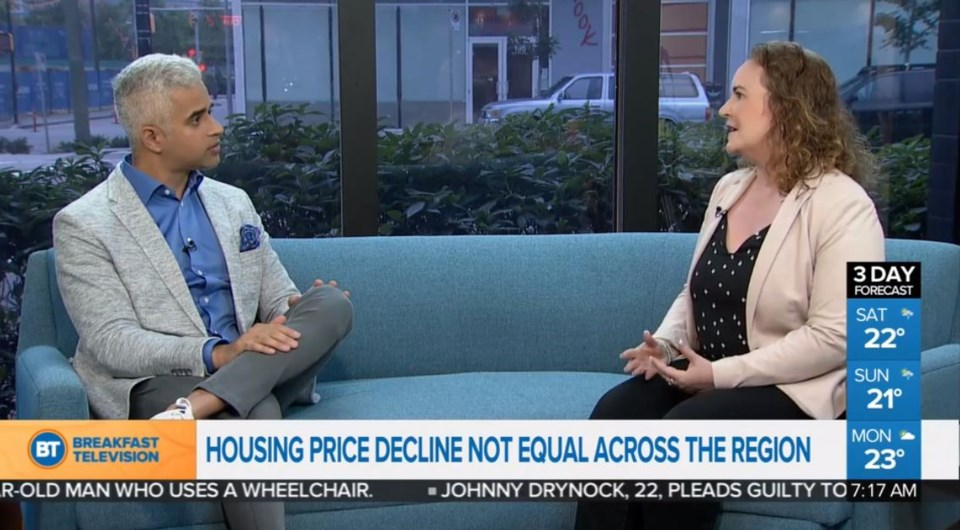 Joannah Connolly with Riaz on City TV BT Vancouver July 5 2019