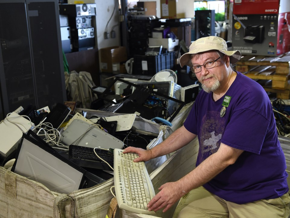 Over the last 13 years, Free Geek Vancouver has helped divert more than 780 tons of electronic waste