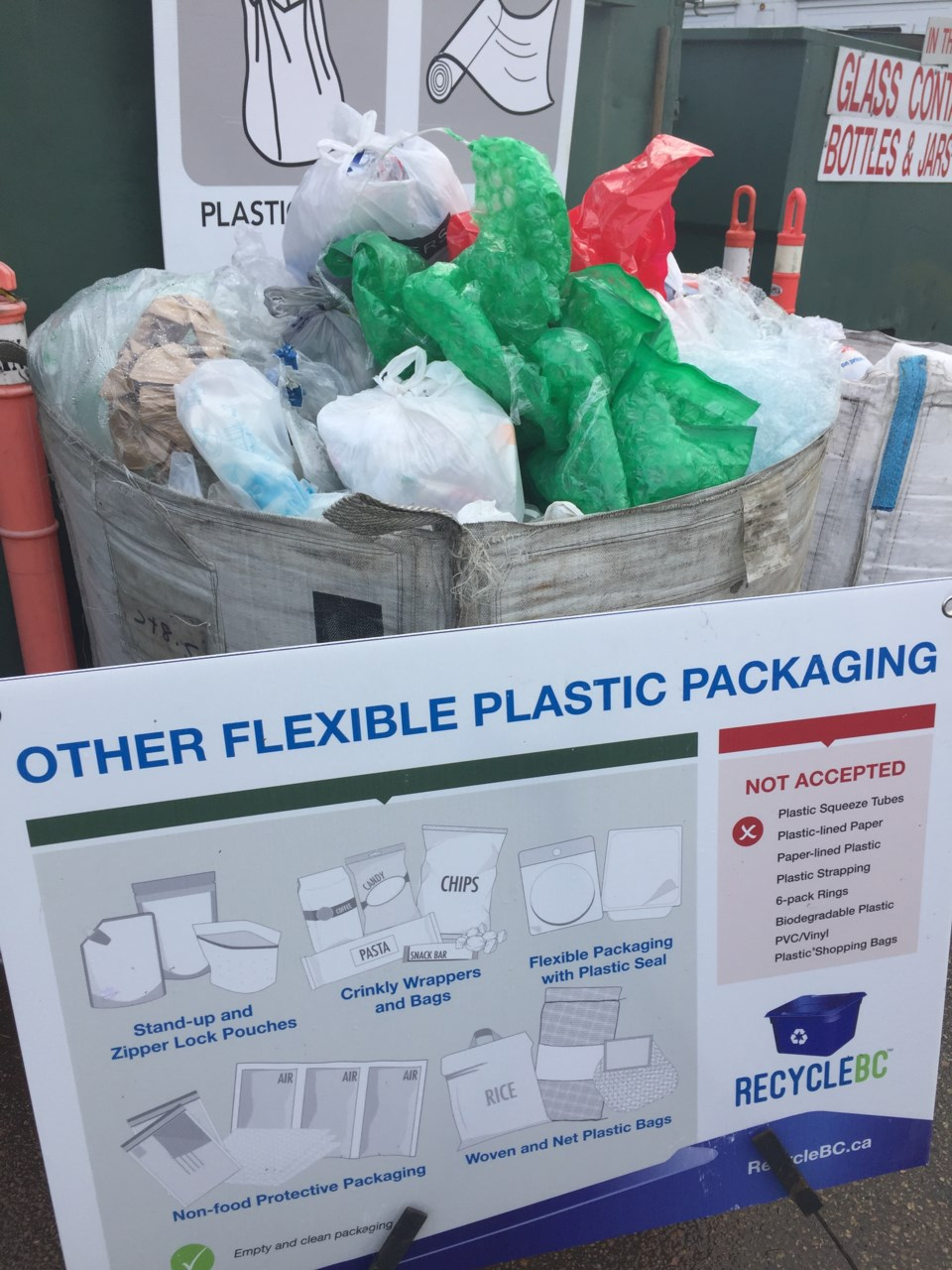 New Westminster recycling depot