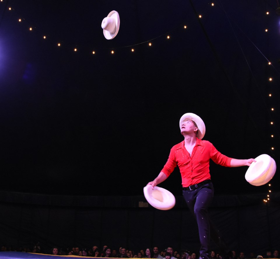 Monterrey native Eduardo García has been juggling since he was 10 and performing professionally for