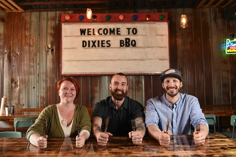 Dixie's BBQ on Hastings is closing its sit-down restaurant on Hastings Street and shifting to a deli